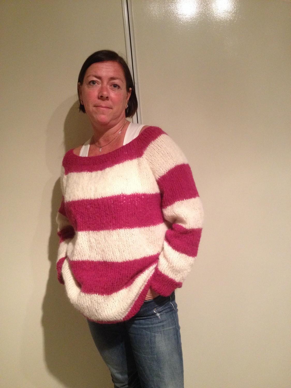 strikking for nybegynnere genser